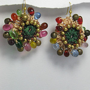 Gemstone Earrings, Jewelry, accessories